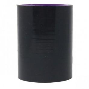 """Mangote Preto em Silicone Reto Liso 2"""" Polegadas (51mm) * 76mm - Epman"""