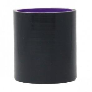 """Mangote Preto em Silicone Reto Liso 2,5"""" Polegadas (63mm) * 76mm - Epman"""