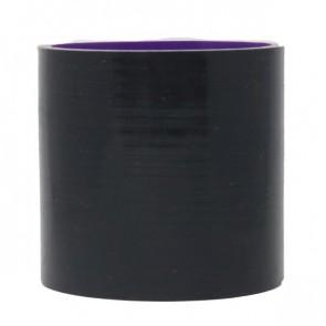 """Mangote Preto em Silicone Reto Liso 2,75"""" Polegadas (70mm) * 76mm - Epman"""