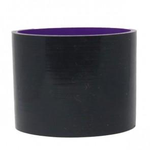 """Mangote Preto em Silicone Reto Liso 3,5"""" Polegadas (89mm) * 76mm - Epman"""