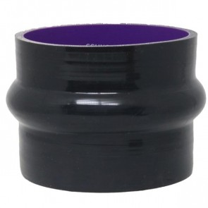 "Mangote Preto em Silicone Reto 3,5"" Polegadas (89mm) * 76mm - Epman"