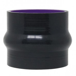 "Mangote Preto em Silicone Reto 3"" Polegadas (76mm) * 76mm - Epman"