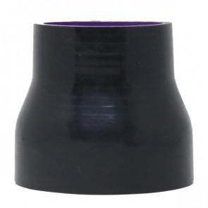 "Mangote Preto em Silicone Redutor Reto 3"" (76mm) para 2,25"" (57mm) * 76mm - Epman"