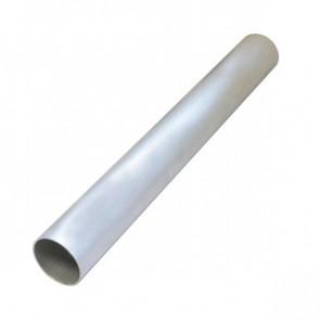 """Tubo em Aluminio Reto 2"""" polegada x 500mm - Sem Acabamento"""