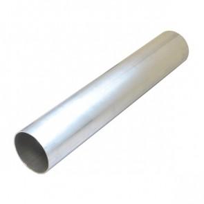 """Tubo em Aluminio Reto 3-1/2"""" polegada x 500mm - Sem Acabamento"""
