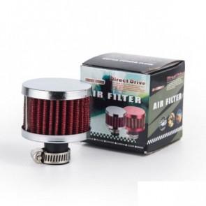 Filtro de Ar para Respiro Entrada com 11mm Epman - Vermelho