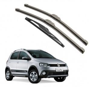 Kit Palhetas Dianteira e Traseira para Volkswagen Crossfox 2013 a Atual