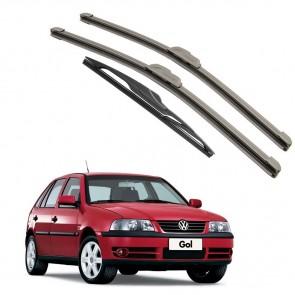 Kit Palhetas Dianteira e Traseira para Volkswagen Gol G3 1999 A 2005