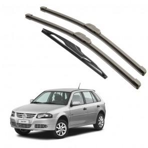 Kit Palhetas Dianteira e Traseira para Volkswagen Gol G4 2006 A 2008