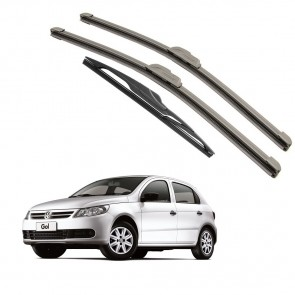 Kit Palhetas Dianteira e Traseira para Volkswagen Gol G5 2009 A 2012