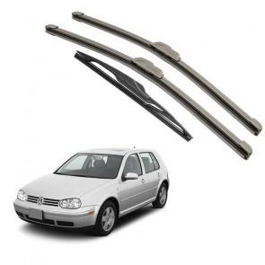 Kit Palhetas Dianteira e Traseira para Volkswagen Golf 1999 A 2006