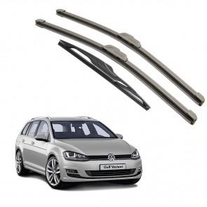Kit Palhetas Dianteira e Traseira para Volkswagen Golf Variant 2015 A Atual