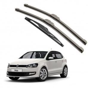 Kit Palhetas Dianteira e Traseira para Volkswagen Polo 2013 A Atual