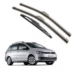 Kit Palhetas Dianteira e Traseira para Volkswagen Space Fox 2013 a Atual